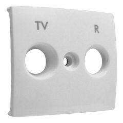 Лицевая панель Legrand Valena розетки TV-R белая 774442