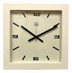 Настенные часы (45x45 см) SARS 0195 White