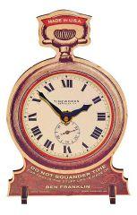 Timeworks Настольные часы (12x18 см) Pocket Watch POTPWR