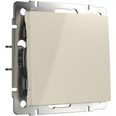 Werkel Выключатель одноклавишный проходной (слоновая кость) W1112003