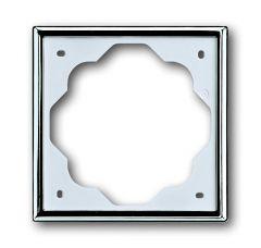 Рамка 1-постовая ABB Impuls хром 2CKA001754A4514