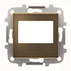 Лицевая панель ABB Sky цифрового FM‐радио античная латунь 2CLA856800A1201
