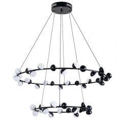 Подвесная светодиодная люстра Arte Lamp Dexter A3619SP-48BK