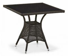 Afina Стол обеденный T197BNS-W53-80x80 Brown