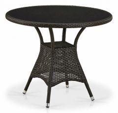 Afina Стол обеденный T197ANS-W53-D90 Brown