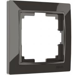 Werkel Рамка на 1 пост (серо-коричневый, basic) W0012007