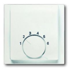 Лицевая панель ABB Impuls терморегулятора белый бархат 2CKA001710A3922