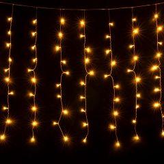 Занавес световой [1.5x1 м] Eurosvet 200-001 теплый белый