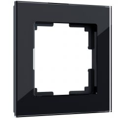 Werkel Рамка на 1 пост (черный) W0011108