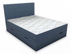 Belabedding Кровать двуспальная с матрасом Домино 2000x1800