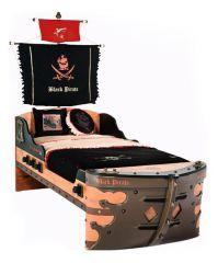 Cilek Кровать Black Pirate 20.13.1308.00