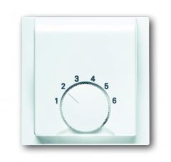Лицевая панель ABB Impuls терморегулятора альпийский белый 2CKA001710A3552