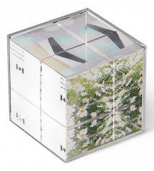 Umbra Фоторамка настольная (6х6х7 см) Ice Frame 1013709-410