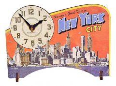Timeworks Настольные часы (14x19 см) New York City POTNYC