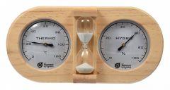 Банные штучки Термометр с гигрометром (28.5x8x18.5 см) 18028