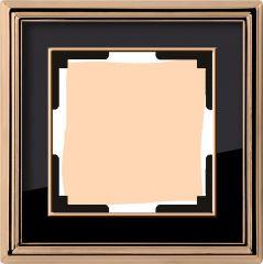 Werkel Рамка Palacio на 1 пост (золото/черный) WL17-Frame-01
