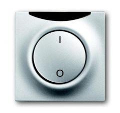 Лицевая панель ABB Impuls выключателя с ДУ I/O серебристо-алюминиевый 2CKA006020A1388