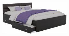 Наша мебель Кровать полутораспальная Виктория-МБ с матрасом ГОСТ 2000x1400
