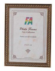 Фоторамка FA пластик Виток золото 15х21 (42/1008) Б0049961