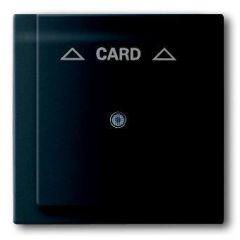 Лицевая панель ABB Impuls выключателя карточного чёрный бархат 2CKA001753A0159