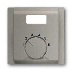 Лицевая панель ABB Impuls терморегулятора шампань металлик 2CKA001710A3708