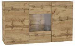 НК-Мебель Тумба-витрина Point Тип-1.2