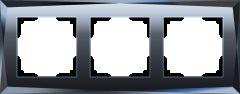 Werkel Рамка на 3 поста (черный) W0031208