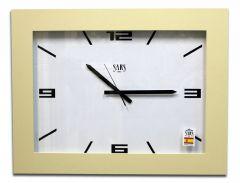SARS Настенные часы (65x45 см) 0196a 0196a Ivory