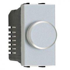 Диммер поворотный ABB Zenit серебро N2160.E PL