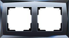 Werkel Рамка на 2 поста (черный) W0021208