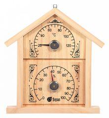 Банные штучки Термометр с гигрометром (29x22.5x3 см) 18023