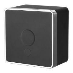 Werkel Вывод кабеля Gallant (черный/хром) W5050235