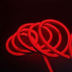Гибкий неон SWG 6W/m 120LED/m 2835SMD красный 50M 007377