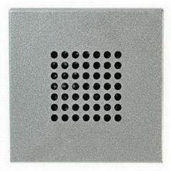 Зуммер ABB Zenit серебро N2219 PL