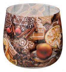 АРТИ-М Свеча декоративная (6x7 см) Имбирный пряник 348-436