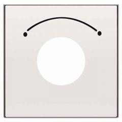 Лицевая панель ABB Sky выключателя с ключом на 2 положения альпийский белый 2CLA855300A1101