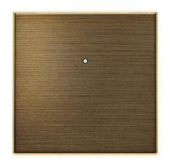 Лицевая панель ABB Sky выключателя одноклавишного античная латунь 2CLA853000A1201