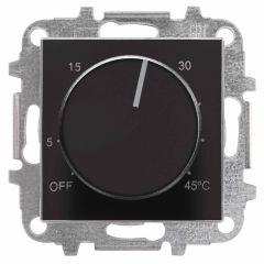 Лицевая панель ABB Sky терморегулятора чёрный бархат 2CLA854090A1501