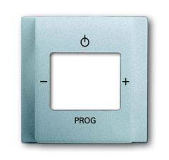 Лицевая панель ABB Impuls цифрого FM-радио серебристо-алюминиевый 2CKA008200A0064