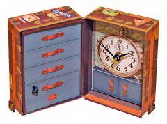 Timeworks Настольные часы (8x14 см) Steamer Trunk BCST5S