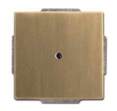 Лицевая панель ABB Dynasty заглушка латунь античная 2CKA001710A4080