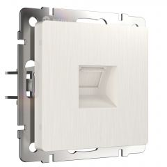 Werkel Розетка Ethernet RJ-45 (перламутровый рифленый) W1181013