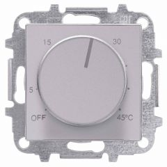 Лицевая панель ABB Sky терморегулятора серебристый алюминий 2CLA854090A1301