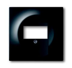 Лицевая панель ABB Impuls розетки USB чёрный бархат 2CKA001753A0148
