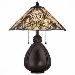 Настольная лампа декоративная Quoizel India QZ/INDIA/TL