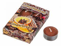 АРТИ-М Набор из 6 свечей декоративных (4x2 см) Имбирный пряник 348-440