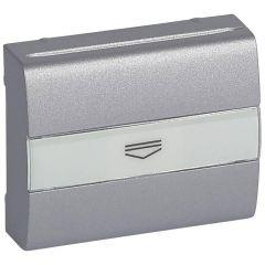 Лицевая панель Legrand Galea Life выключателя с ключом-картой алюминий 771354