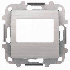 Лицевая панель ABB Sky цифрового FM‐радио нержавеющая сталь 2CLA856800A1401