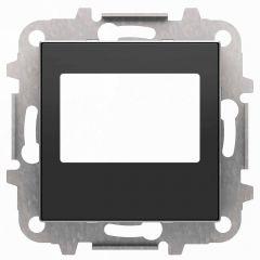 Лицевая панель ABB Sky цифрового FM‐радио чёрный бархат 2CLA856800A1501