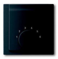 Лицевая панель ABB Impuls терморегулятора чёрный бархат 2CKA001710A3917